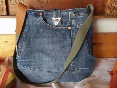 fabriquer un sac a main avec un jean sac en jean levis sac. Black Bedroom Furniture Sets. Home Design Ideas