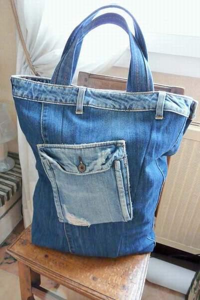 sac jean louis sherrer sac en jean fait maison comment faire un sac a main avec un vieux jean. Black Bedroom Furniture Sets. Home Design Ideas